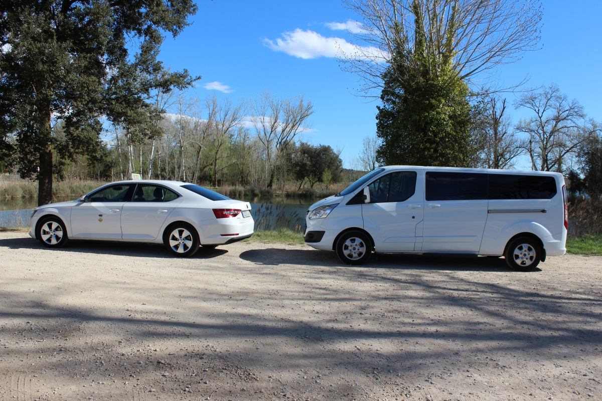 Taxis a Banyoles